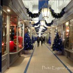 Princess Arcade Christmas Deco, Piccadilly.  Photo by Eugenie Absalom