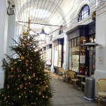 Christmas Tree and lights at the Royal Opera Arcade.  Photo by Eugenie Absalom