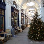 The Royal Opera Arcade at Christmas.  Photo © Eugenie Absalom