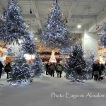 Winter Wonderland at the Ideal Home Show 2013.  Photo by Eugenie Absalom'